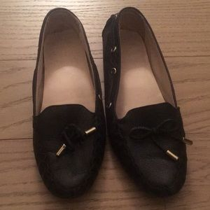 Cole Haan loafer black leather
